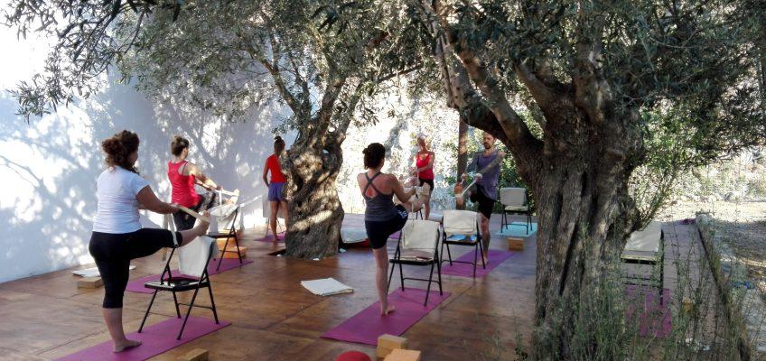 Yoga on Crete