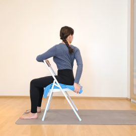 How Yoga twists relieve the spine